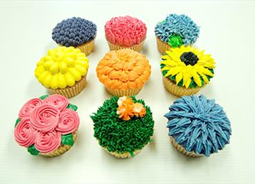 Easy Cup Cake Decorations For The Beginner