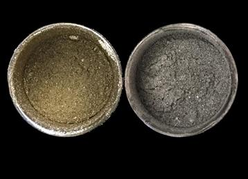 Creative Metallic Lustre Powders GoldSilver